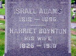 Harriet <i>Boynton</i> Adams