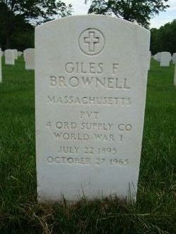 Giles F Brownell