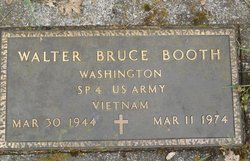 Walter Bruce Booth