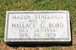 Massie E. <i>Stallings</i> Bobo
