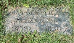 Eliza Jane <i>Gemberling</i> Alexander