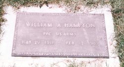William Anthony W.A. Hampton