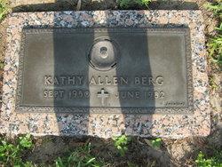 Kathy <i>Allen</i> Berg