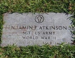 Benjamin Franklin Atkinson, Jr