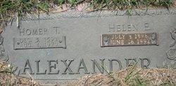Homer T Alexander