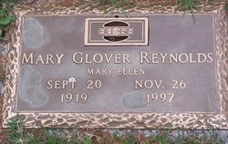 Mary Ellen <i>Glover</i> Reynolds