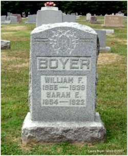 Sarah Elizabeth <i>Hickman</i> Boyer