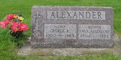 Anna M <i>Allendorf</i> Alexander