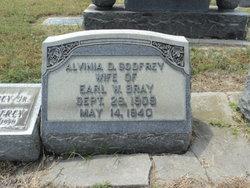 Alvinia D <i>Godfrey</i> Bray
