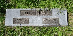 Frank G Bolling