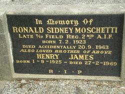 Rodney Sydney Moschetti