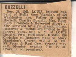 Luigi Louis Bozzelli