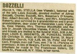 Natalina Estella Stella <i>Vignola</i> Bozzelli