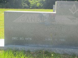 Wiley Hollis Sanders, Sr