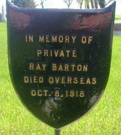 Pvt Ray Barton