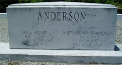 Yancy Madison Anderson