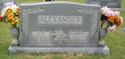 Thomas D Alexander
