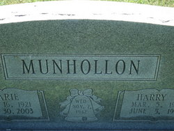 Harry E Munhollon, Sr