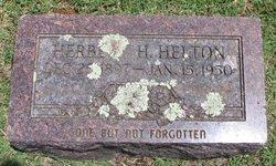 Herbert Henry Helton