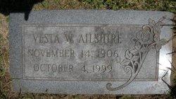 Vesta W Allshire