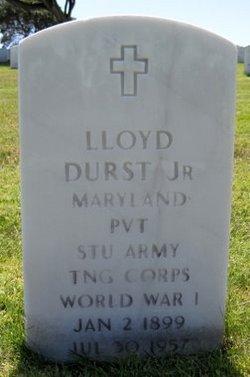 Lloyd Durst, Jr