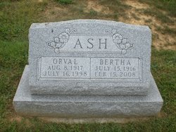 Orva L Ash