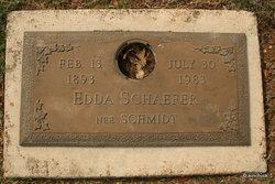 Edda <i>Schmidt</i> Schaefer