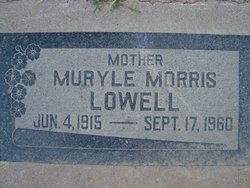 Muryle Abbott <i>Morris</i> Lowell
