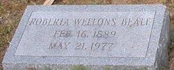 Roberta <i>Wellons</i> Beale