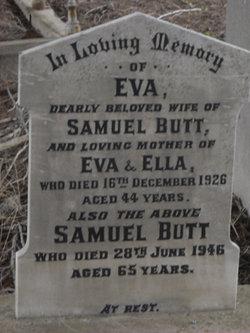 Eva Jane <i>Myles</i> Butt
