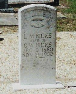 Lydia Malissa <i>Hicks</i> Hicks