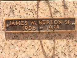 James William Jim Burton, Sr