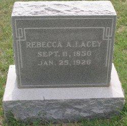 Rebecca Ann <i>Rutherford</i> Lacey