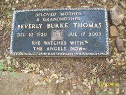 Beverly <i>Burke</i> Thomas