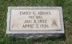 Emily C. <i>Hill</i> Adams