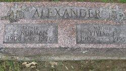 Vivian E <i>Wright</i> Alexander