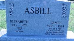 Elizabeth <i>Prayten</i> Asbill