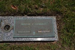 Minnie E Edwards