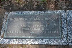 Woodrow Wilson Boone