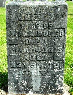 Martha William <i>Walthall</i> Bones