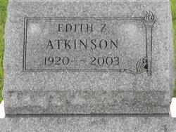 Edith Z. <i>Coppock</i> Atkinson