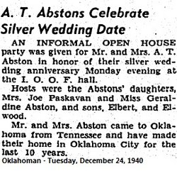 Allen T. Tom Abston