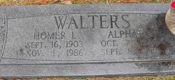 Alpha Louise <i>Duchesne</i> Walters