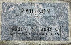 Anna Maria <i>Vang</i> Paulson