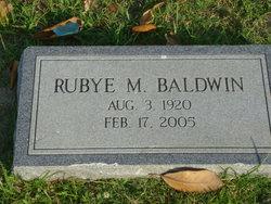 Rubye Mae <i>McCandless</i> Baldwin