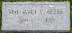 Margaret M. <i>Butler</i> Akers
