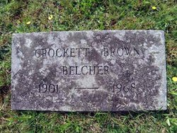 Crocket Brown Belcher