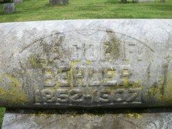 Jacob Frederick Behler