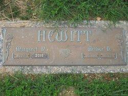 Margaret Virginia <i>Newlin</i> Hewitt-Gardner