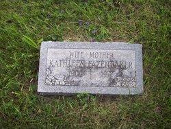 Kathleen <i>Miller</i> Fazenbaker